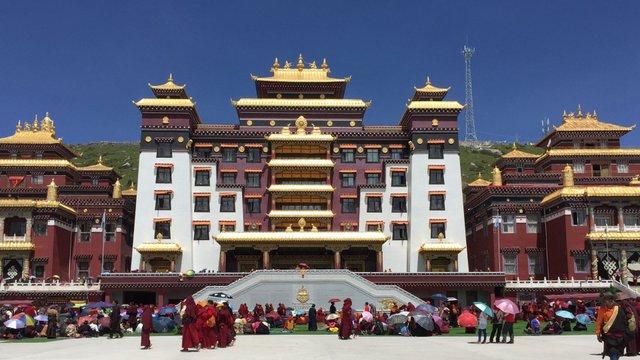 Dzogchen Monastery - Serxu in Eastern Tibet