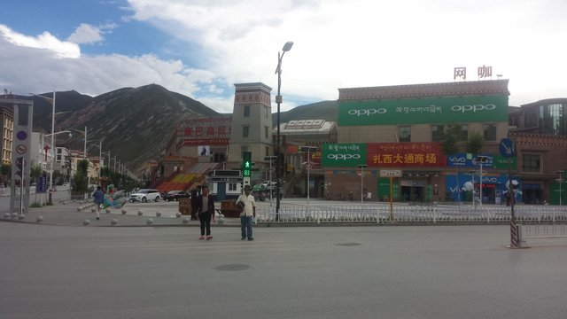 Yushu Center in Eastern Tibet