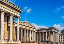 Landscape view of British Museum