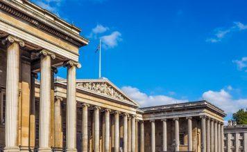 Landscape view of British Museum