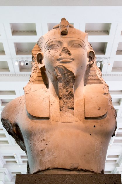 Bust of the King Amenhotep-III or Amenophis-III