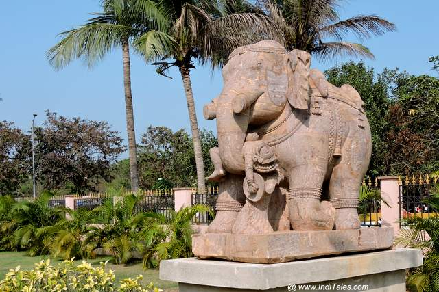 Giant elephants of Konark