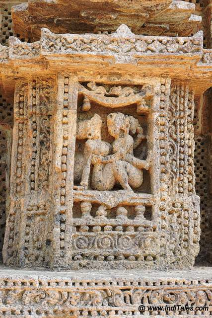 Erotica at Sun Temple of Konark