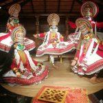 Kathakali Mahabharata Performance