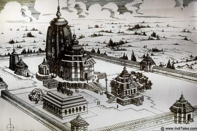 कोणार्क सूर्य मंदिर की रूपरेखा