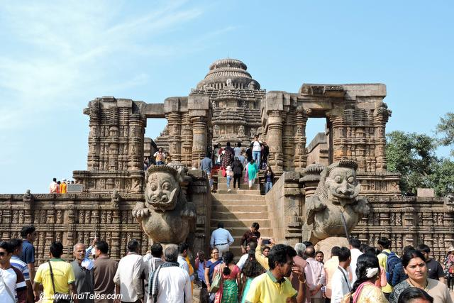 First view of Sun Temple Konark