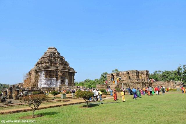 कोणार्क सूर्य मंदिर का वास्तुशिल्प
