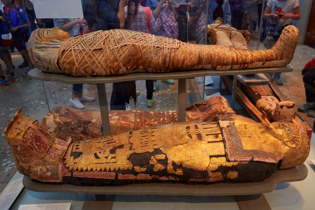 Mummies Sarcophagus at British Museum