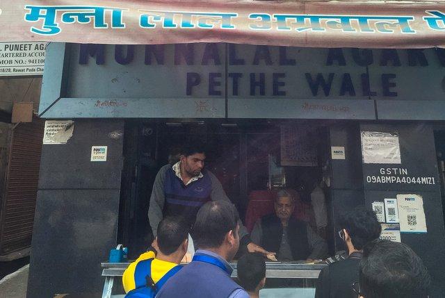Munnalal Pethe Wale shop, Agra