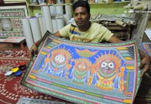 Pattachitra Artist of Raghurajpur