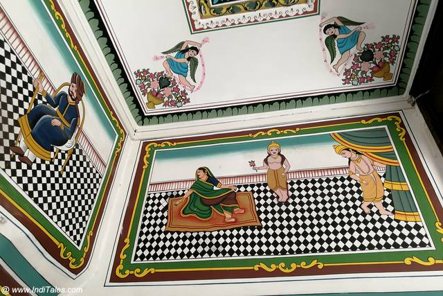 Paintings of Tibrewal Haveli in Jhunjhunu