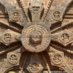 Details of the wheels of Konark