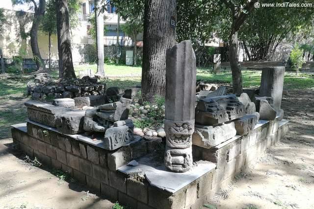 भीमा देवी मंदिर के अवशेष