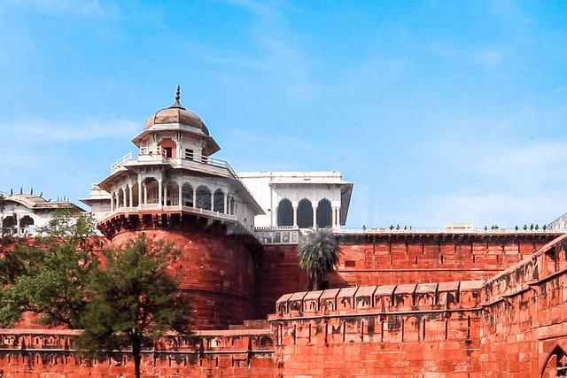 Muasamman Burj at Agra Fort