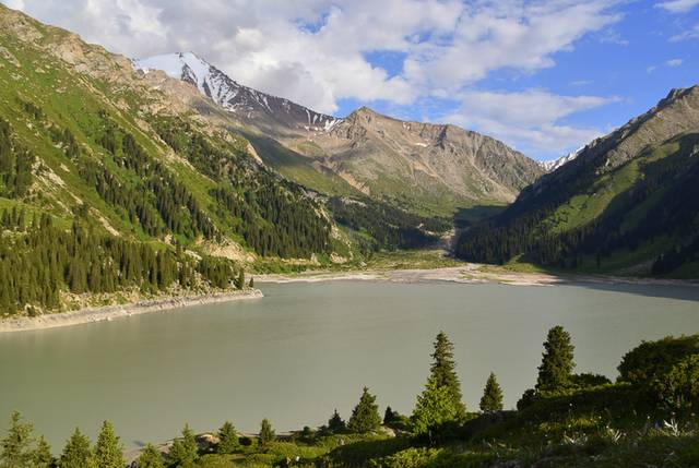 Big Almaty Lake view