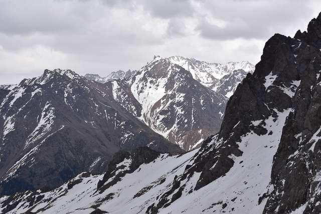 Shymbulak mountains of Kazakhstan