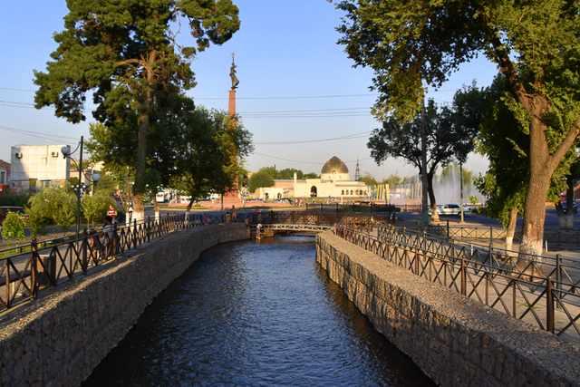 River in Shymkent