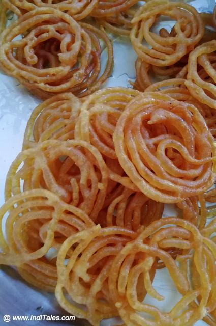 Hot Crisp Jalebi, Popular Street Food in India