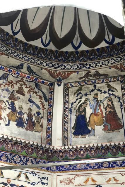 Frescos Kali Mata Mandir - Sangrur