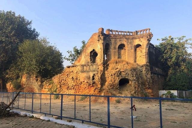 Remnants of the Sangrur Fort