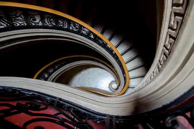 Spiral Staircase - Museum of Fine Arts, Manila