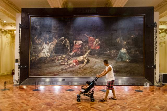 The Spoliarium - Free Museums in Manila