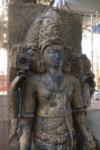 Brahma sculpture at Sopara