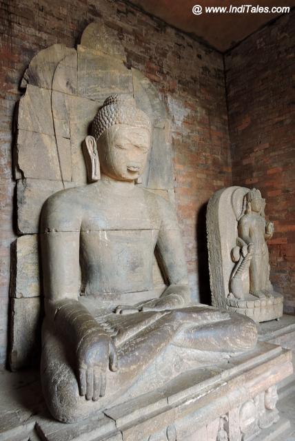 Buddha at Ratnagiri Monastery