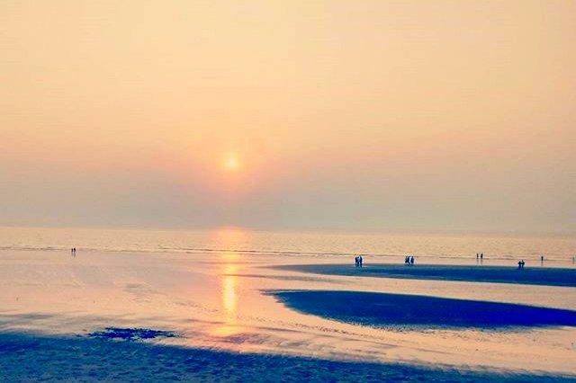 Sunset at Rajodi beach
