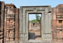 Ornate door of Ratnagiri Monastery