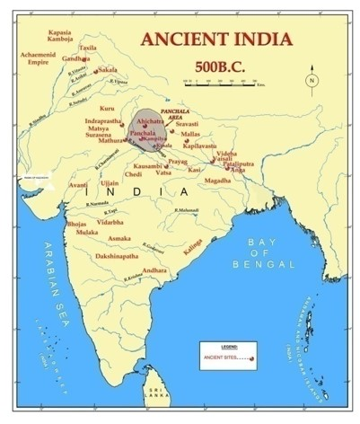 Kampilya the holy place on the map of India