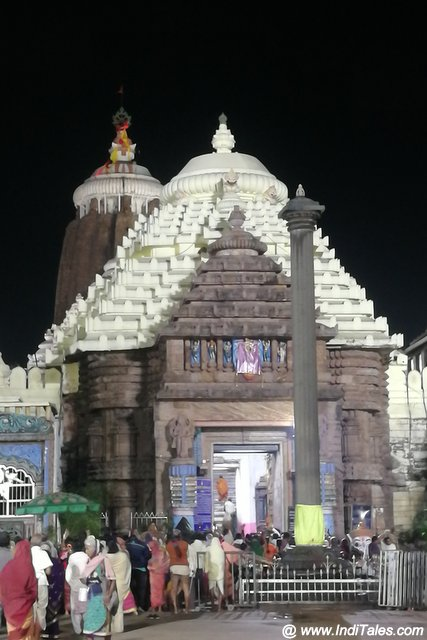 Arun Stambh at Simha Dwara