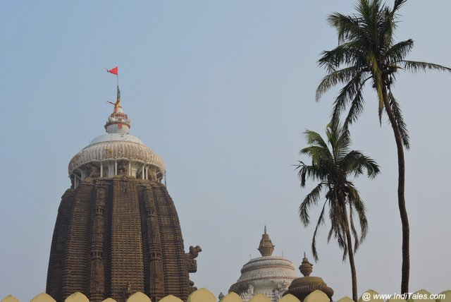 Nila Chakra on Shikhara of Jagannath Temple
