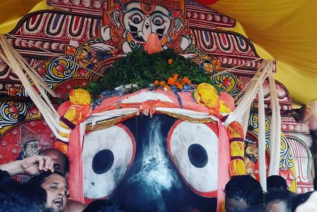 Jagannath during Rath Yatra