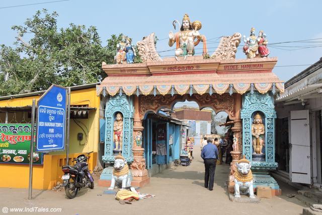 Bedi Hanuman Temple in Puri