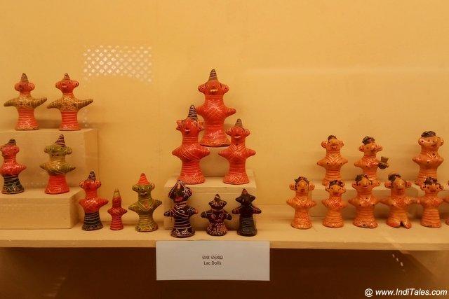 Lac dolls at Kala Bhoomi Odisha Crafts Museum