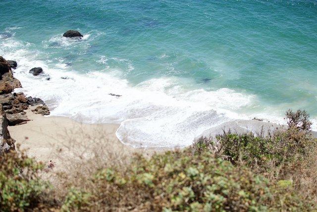 Waves at Malibu