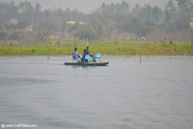 Peddle Boat Ride on Kanjia Lake