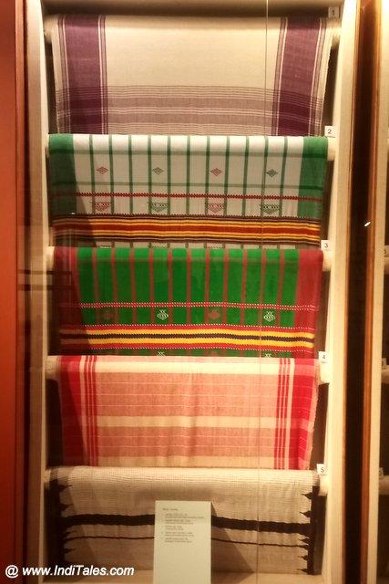Odia Handlooms on display at Kala Bhoomi, Odisha Crafts Museum