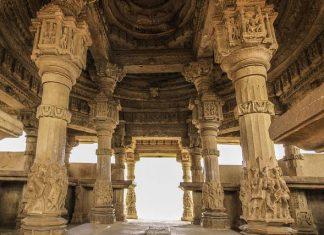 Typical Mandapa of a temple