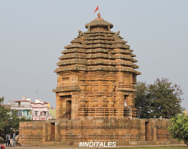 Pidha Deul (Shikhar) of Bhaskareswar Temple, Bhubaneswar