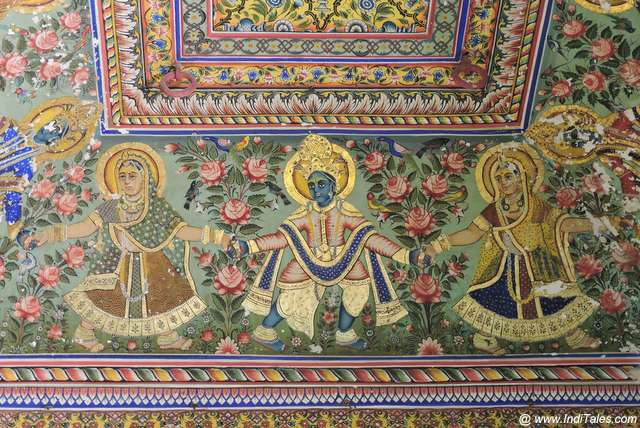 Golden Room at Jhunjhunwala Haveli