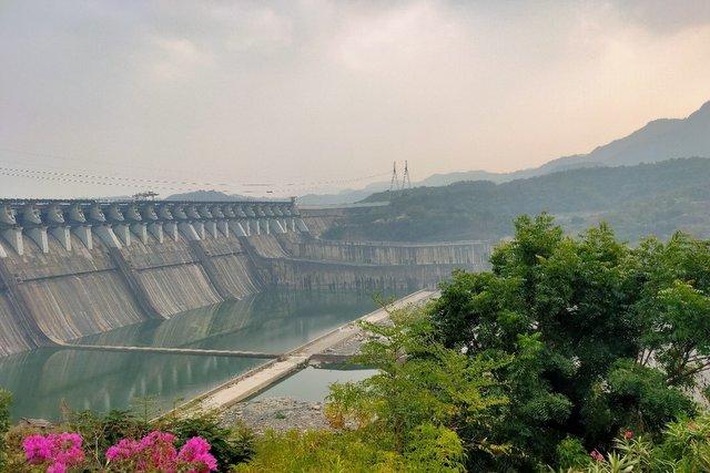 Sardar Sarovar Dam on the Narmada River