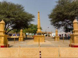 Vijay Stambh at Tanot Rai Temple