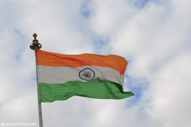 Indian Flag - part & parcel of Indian Patriotic Songs