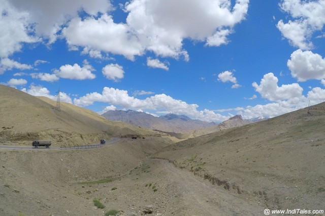 Landscape scene of Ladakh, India