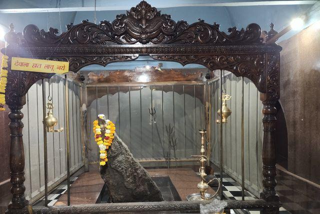 Bhootnath at Chandreshwar Bhootnath Temple