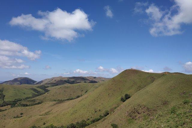 Kyatanamakki hilltop view, en route Annapoorneshwari Temple