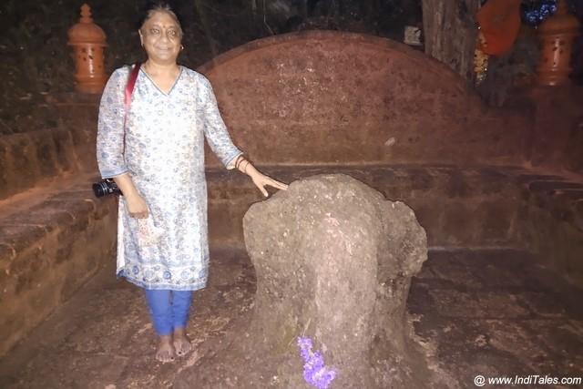 Ancient Elephant stone sculpture