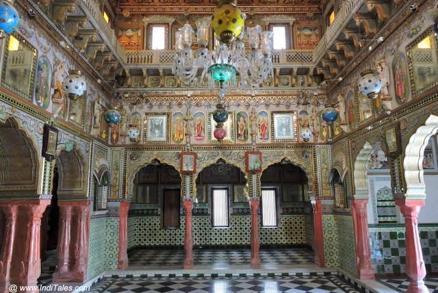 Opulent Jain Temple at Churu